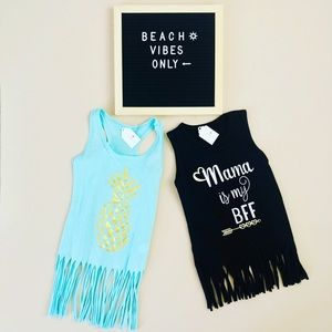 Other - Beach Fringe Cover Up/Dress